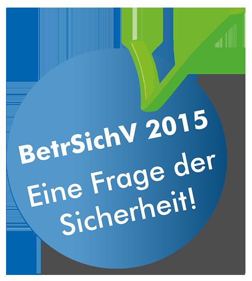BetrSichV 2015 Logo