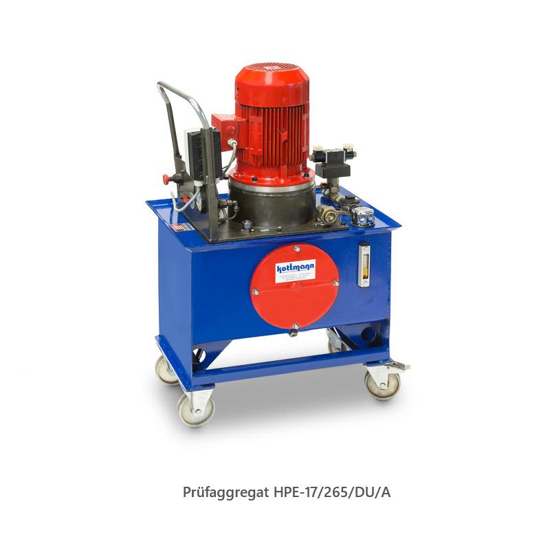 Prüfaggregat HPE-17/265/DU/A
