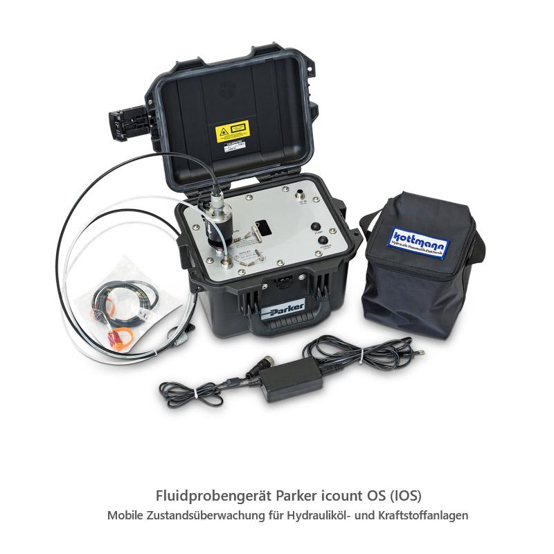 Fluidprobengerät Parker icount OS (IOS)