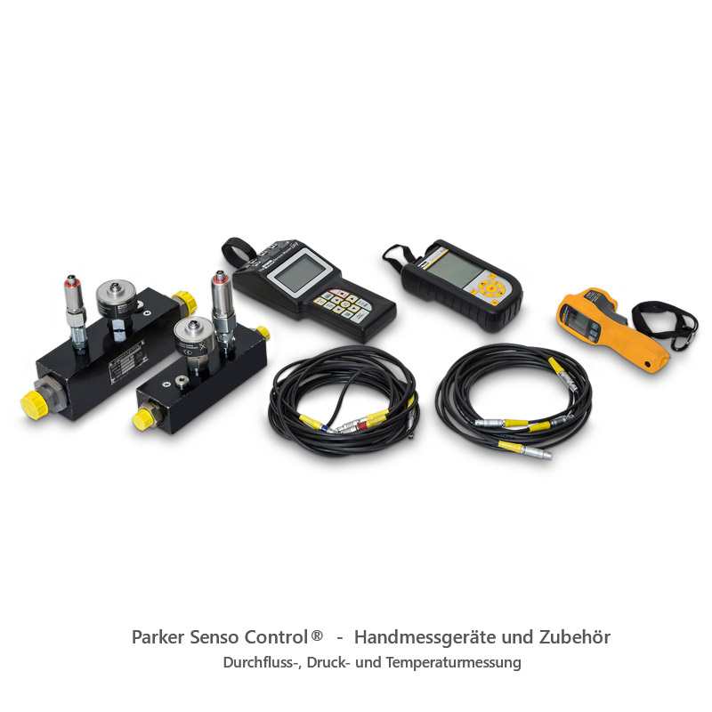 Parker Senso Control® - Handmessgeräte und Zubehör