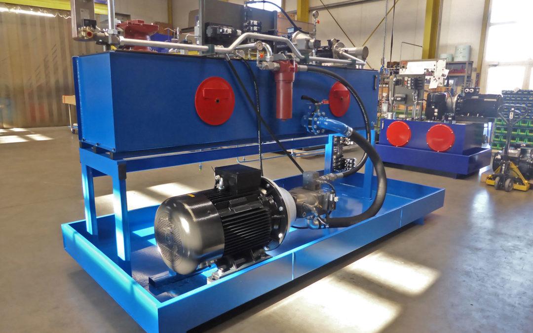 Hydraulikaggregat für 400 to. Presse